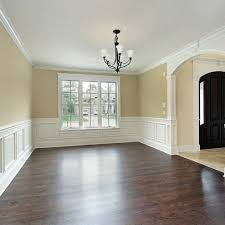 Wainscoting Ideas For Dining Room This Wainscoting And Moldings In White With Wood