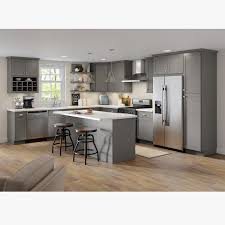 home depot kitchen cabinets hton bay hton bay edson shaker assembled 15x30x12 in wall cabinet