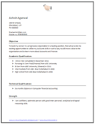 simple resume format for freshers in word file download resume m europe tripsleep co