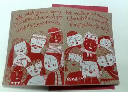 mina braun christmas cards