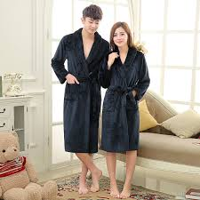 aliexpress com buy men women luxury flannel coral fleece spa