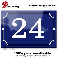 plaque numero rue sticker numero de rue paris