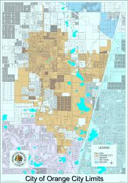 Area Code Map Florida by Planning Division And Maps U2013 City Of Orange City