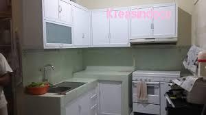 Kitchen Set Aluminium Pemasangan Kitchen Set Aluminium Di Gading Serpong Cluster Crystal