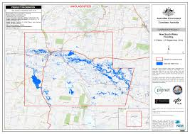 Flood Map Planet Imagery Aids Flood Response In New South Wales Australia