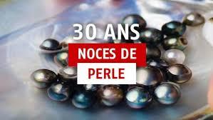 30 ans mariage 30 ans de mariage idées cadeaux pour les noces de perle
