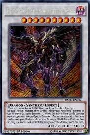 light dragon type synchro red dragon archfiend bane yugioh card prices