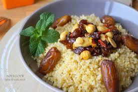 cuisiner le boulgour boulgour aux fruits secs facile aux delices du palais