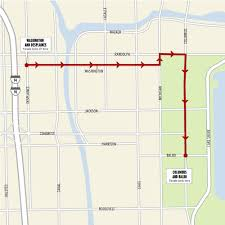 Map Of The Loop Chicago by City Unveils Chicago Blackhawks Stanley Cup Parade Route Blogs