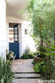 gallery turquoise front door beach house glass doors entry