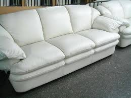 White Leather Sofa Beds 30 Ideas Of White Leather Sofas