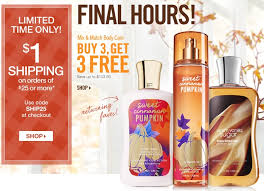 bath works sale and 1 s h ends today