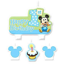 mickey mouse 1st birthday american greetings mickey mouse 1st birthday candles