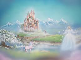 fairytale view painting google search diy inspiration fairytale castle fairytale castle with fairy prince charming unicorn