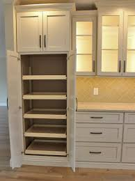 light wood kitchen pantry cabinet pantry cabinet with slideout shelves in a remodeled