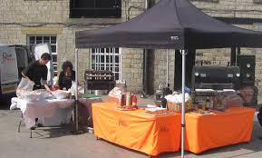 bbq tent bbq catering lancashire hog roasts authentic charcoal cooking