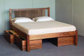 Build Platform Bed How To Build A Platform Bed With Storage Drawers Plans Storage