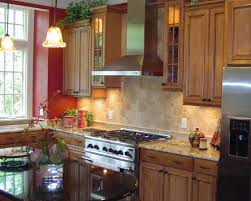 kitchen collection lancaster pa stained maple cabinets counter top back splash interior