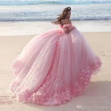 pink wedding dresses pink wedding dresses princess gowns 3d floral