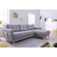 canape gris angle bobochic canapé d angle droit 4 places tissu gris clair
