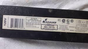 light fixture ballast light fixture ballast youtube