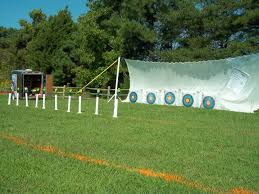 how to backyard archery range design and ideas of house