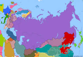 russia map before partition berlin blockade historical atlas of russia 24 june 1948