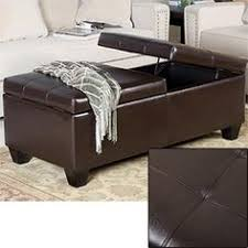 Noble House Chelsea Storage Ottoman Just Ordered This Leather Storage Ottoman I Think I U0027m Going To