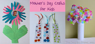 Hand Crafts For Kids To Make - mother u0027s day crafts for kids u2022 the inspired home