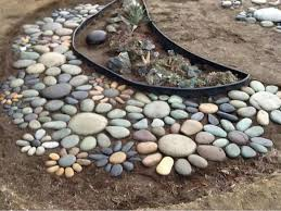 Rocks For The Garden Garden Flower Rock In The Garden Pinterest Rock