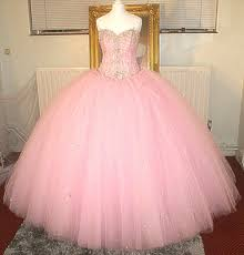 pink wedding dress cinderella s i do borealis diamonte 2 meter wide