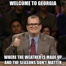 Funny Weather Memes - 16 memes that accurately describe georgia weather