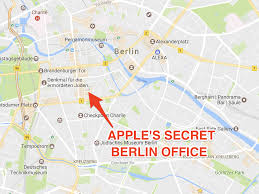 apple u0027s mystery berlin office has been located business insider