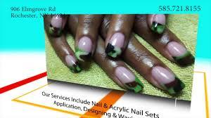 nail salon in rochester ny tina u0027s natural nails youtube