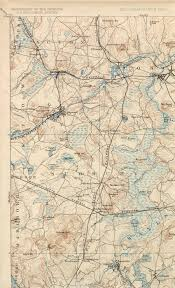 Stony Brook Map The Framingham And Lowell In Topo Maps