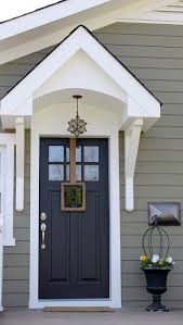 top modern bungalow design grey siding front door colors and
