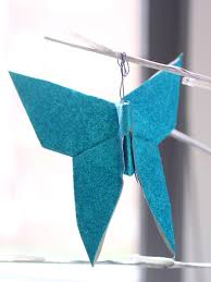 make an origami ornament hgtv