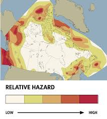 Italy Earthquake Map How A Massive Quake Would Shake Canada U0027s Financial System The