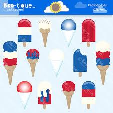 ice cream clipart red and cream