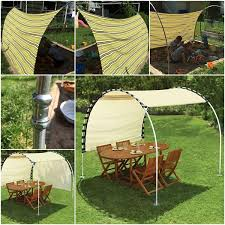 How To Make Awnings Triyae Com U003d Diy Backyard Awning Various Design Inspiration For
