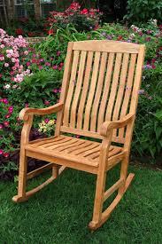Bjs Patio Dining Set - crestwood garden collection teak porch rocker bj u0027s wholesale club