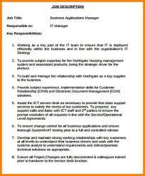 Barber Resume Example Application Support Manager Job Description Top 8 Application