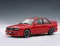 bmw e30 model car modelcar bmw m3 e36 produced by ut models 1 18 diecast cars