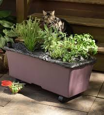 Self Watering Patio Planters by Earthbox Easy Garden Kit Deck Planters Earthbox Garden Kit Is