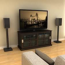 Best Bookshelf Speakers For Tv Adjustable Bookshelf Speaker Stand In Black