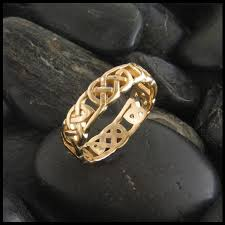 celtic knot ring open knot celtic ring in 14k gold walker metalsmiths celtic jewelry