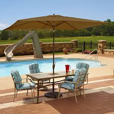 Patio Table And Umbrella Patio Furniture Sets Outdoor Furniture