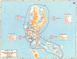 Philippines Map World by Map Of Wwii Luzon 1945