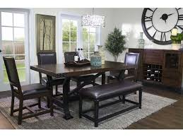 design works dining room iron works dining table 4 chairs and