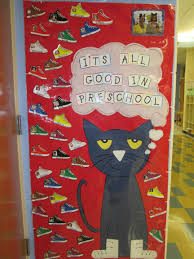pete the cat welcome to preschool picture of each student on
